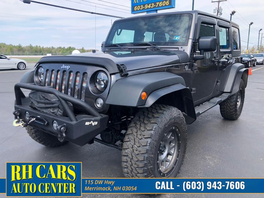 Used Jeep Wrangler Unlimited Sport 4WD 2014 | RH Cars LLC. Merrimack, New Hampshire