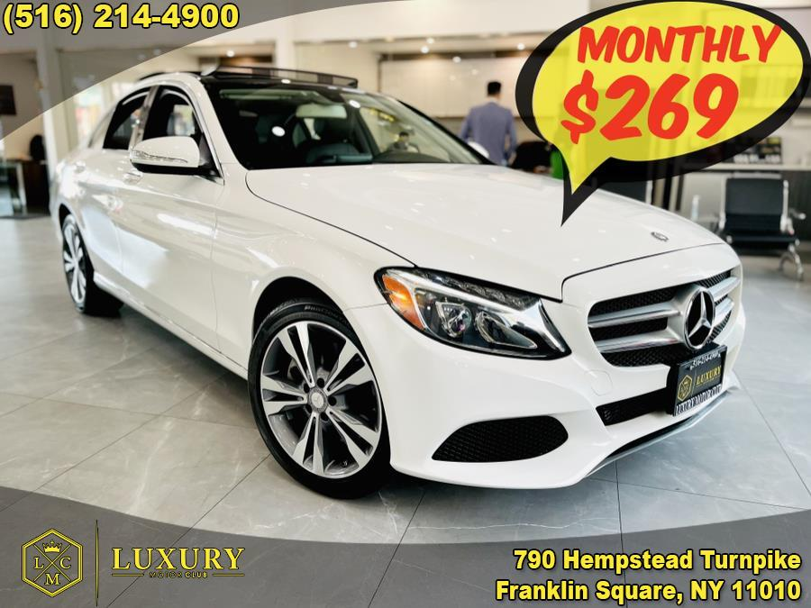 Used Mercedes-Benz C-Class 4dr Sdn C300 4MATIC 2015 | Luxury Motor Club. Franklin Square, New York