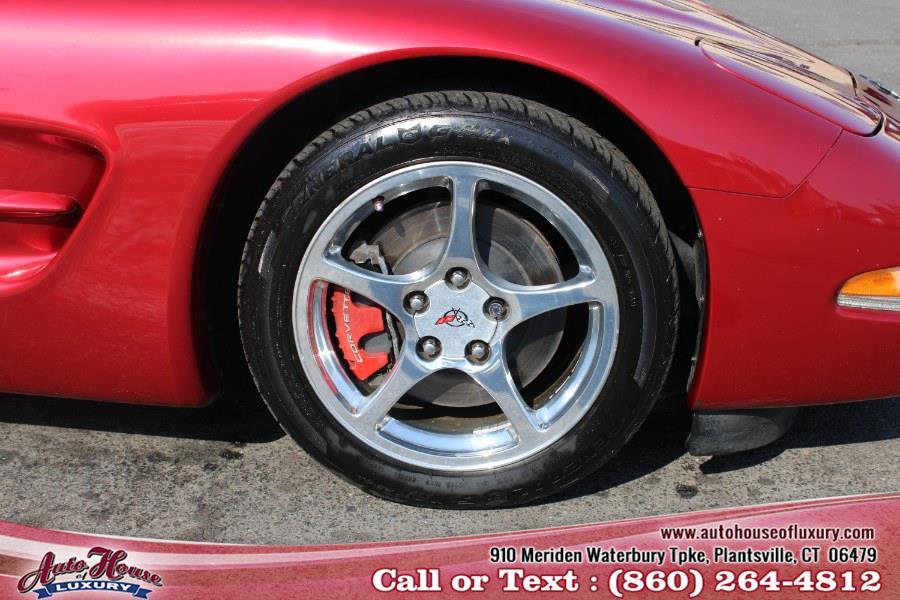 Used Chevrolet Corvette 2dr Cpe 2004 | Auto House of Luxury. Plantsville, Connecticut