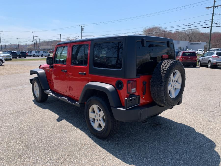 Used Jeep Wrangler Unlimited Sport 4x4 2017 | Saybrook Auto Barn. Old Saybrook, Connecticut