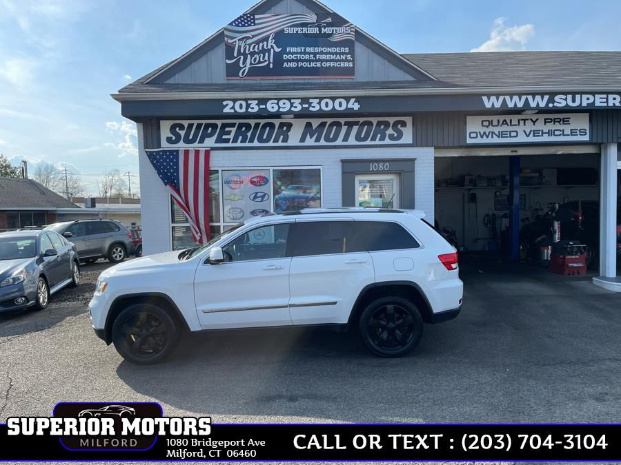 Used 2013 Jeep LAREDO X Grand Cherokee in Milford, Connecticut | Superior Motors LLC. Milford, Connecticut