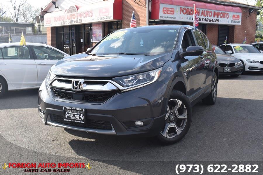 Used Honda CR-V EX AWD 2018 | Foreign Auto Imports. Irvington, New Jersey