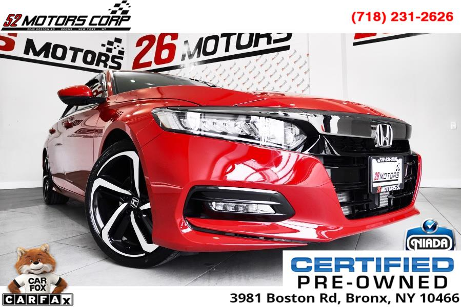 Used 2020 Honda Accord Sedan in Woodside, New York | 52Motors Corp. Woodside, New York