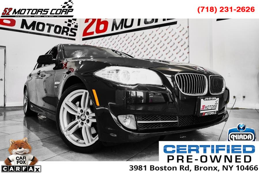 Used BMW 5 Series 4dr Sdn 535i xDrive AWD 2011 | 52Motors Corp. Woodside, New York