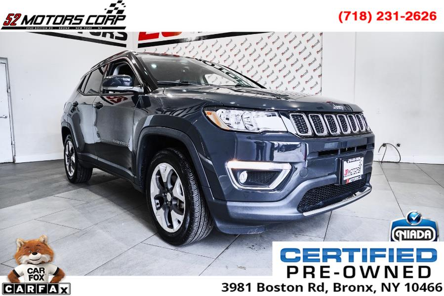 Used 2017 Jeep Compass in Woodside, New York | 52Motors Corp. Woodside, New York