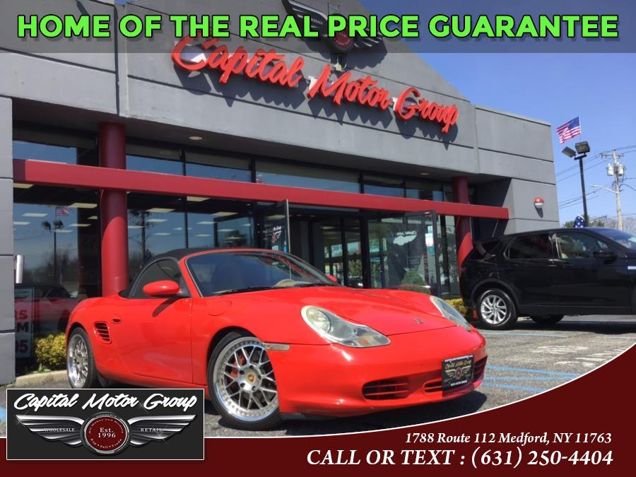 Used Porsche Boxster 2dr Roadster S Tiptronic 2004 | Capital Motor Group Inc. Medford, New York