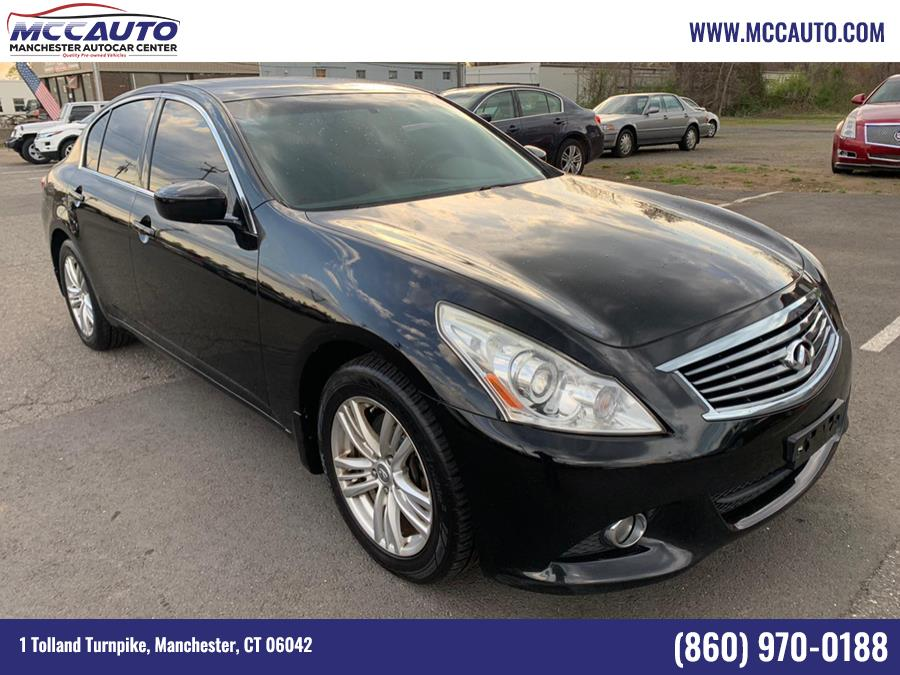 Used INFINITI G37 Sedan 4dr x AWD 2013 | Manchester Autocar Center. Manchester, Connecticut