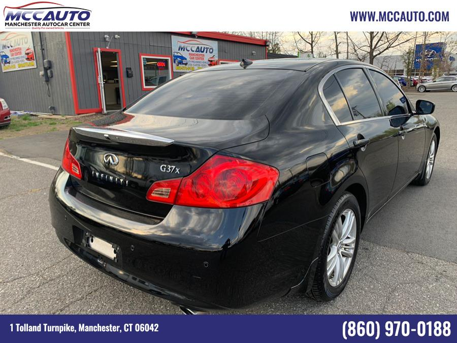 Used INFINITI G37 Sedan 4dr x AWD 2013 | Manchester Autocar Center. Manchester, Connecticut