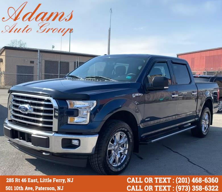 Used Ford F-150 XLT 4WD SuperCrew 5.5'' Box 2017 | Adams Auto Group . Little Ferry , New Jersey