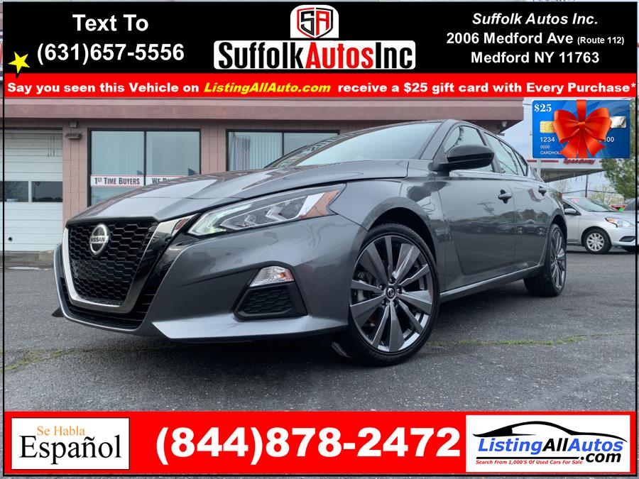 Used 2021 Nissan Altima in Patchogue, New York | www.ListingAllAutos.com. Patchogue, New York