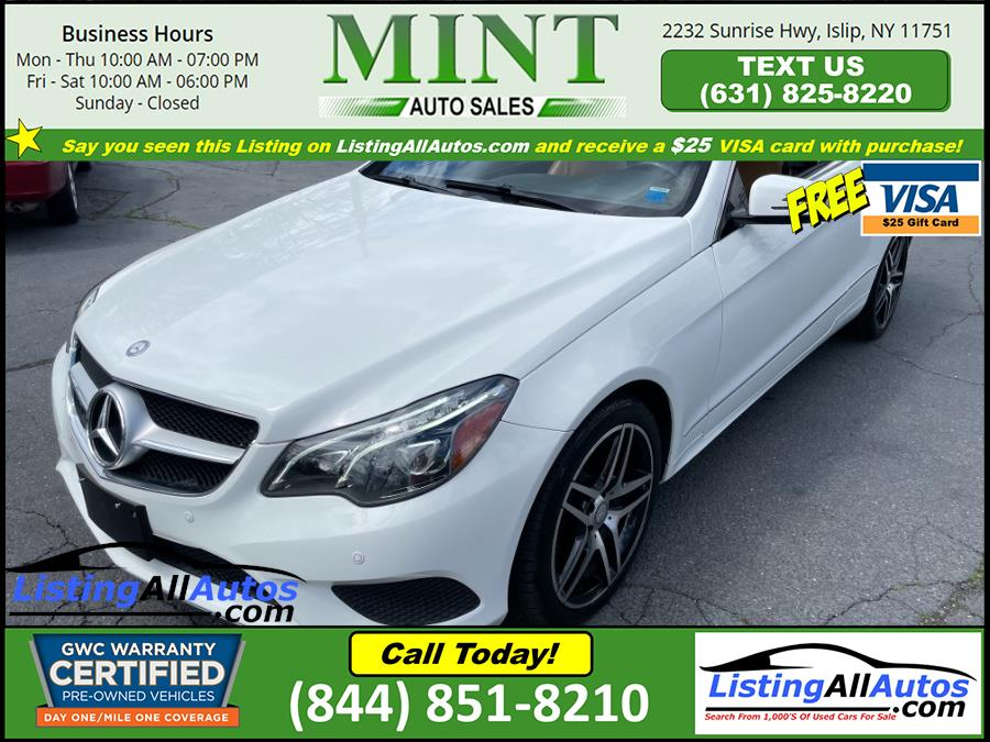 Used 2015 Mercedes-Benz E-Class in Patchogue, New York | www.ListingAllAutos.com. Patchogue, New York