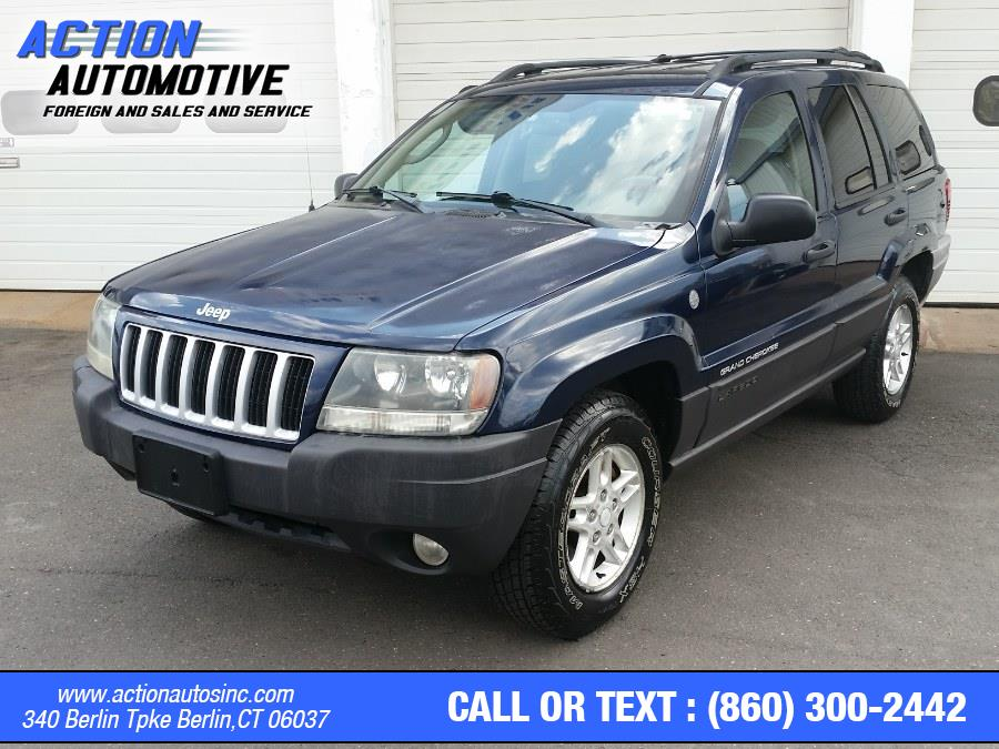 Used Jeep Grand Cherokee 4dr Laredo 4WD 2004 | Action Automotive. Berlin, Connecticut