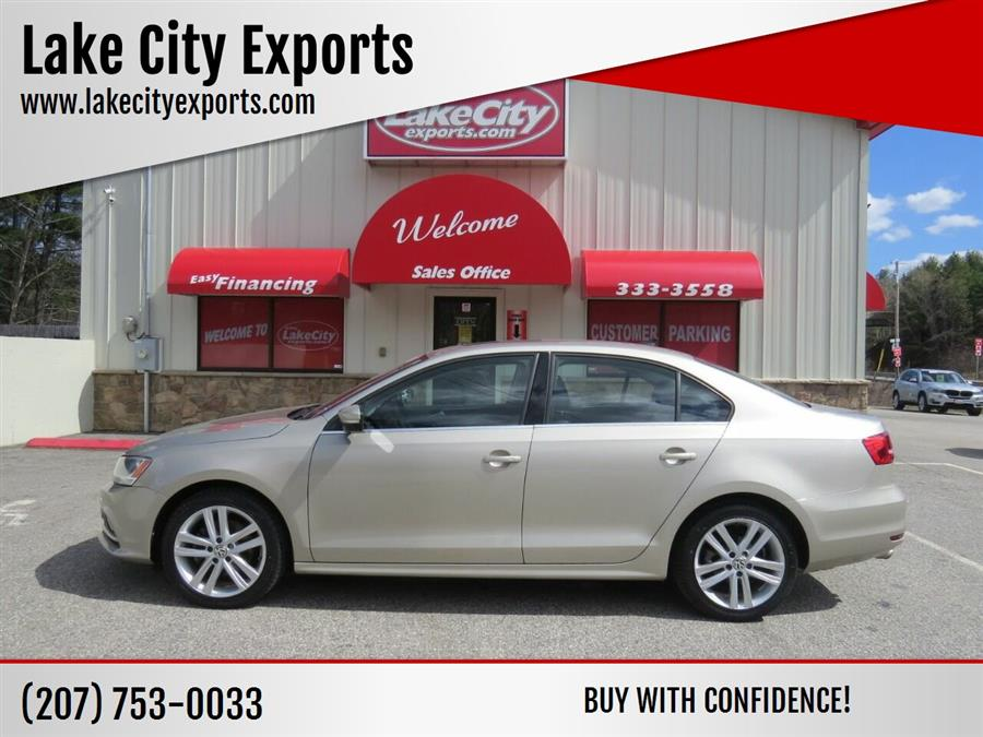 Used Volkswagen Jetta SEL PZEV 4dr Sedan 6A 2015 | Lake City Exports Inc. Auburn, Maine