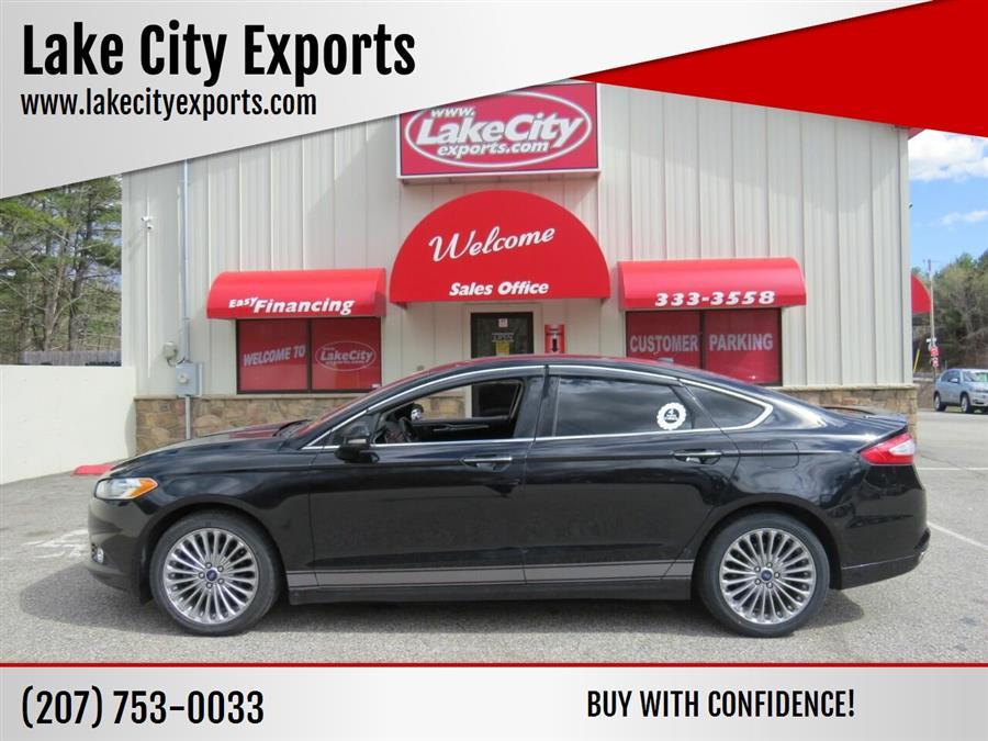 Used Ford Fusion Titanium AWD 4dr Sedan 2016   Lake City Exports Inc. Auburn, Maine