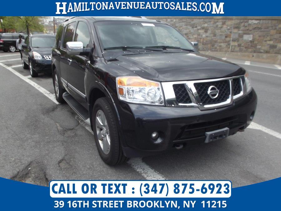 Used Nissan Armada 4WD 4dr SV 2014 | Hamilton Avenue Auto Sales DBA Nyautoauction.com. Brooklyn, New York