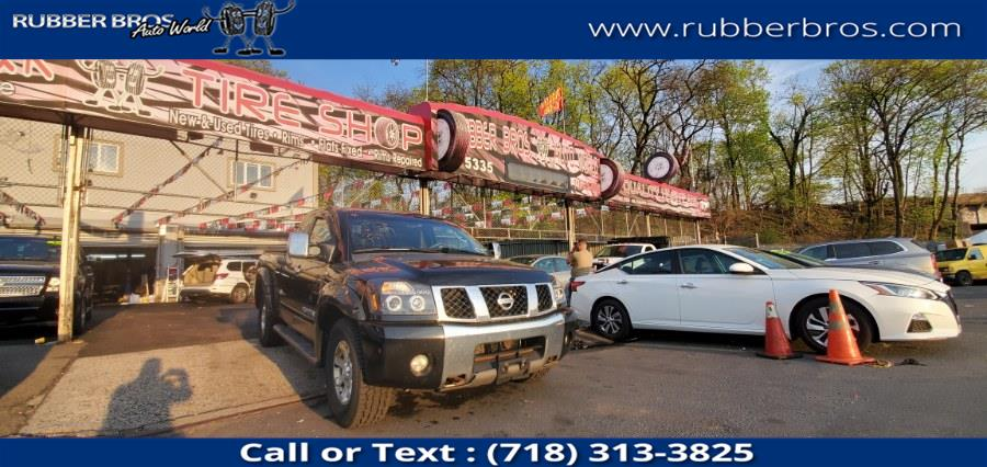 Used 2005 Nissan Titan in Brooklyn, New York | Rubber Bros Auto World. Brooklyn, New York