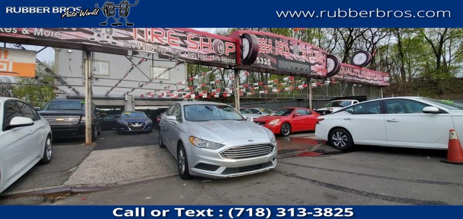 Used Ford Fusion SE FWD 2017 | Rubber Bros Auto World. Brooklyn, New York