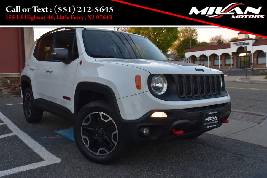 Used Jeep Renegade 4WD 4dr Trailhawk 2016 | Milan Motors. Little Ferry , New Jersey