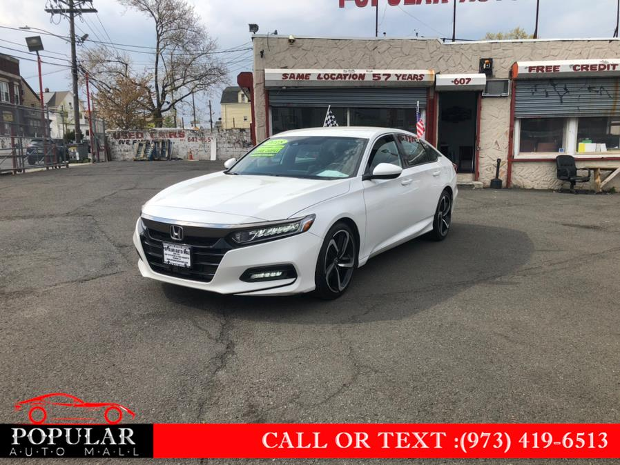 Used Honda Accord Sedan Sport CVT 2018 | Popular Auto Mall Inc . Newark , New Jersey