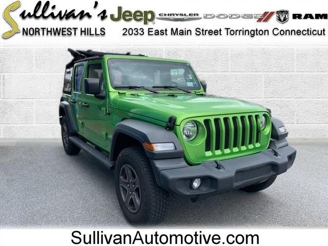 Used 2018 Jeep Wrangler in Avon, Connecticut   Sullivan Automotive Group. Avon, Connecticut