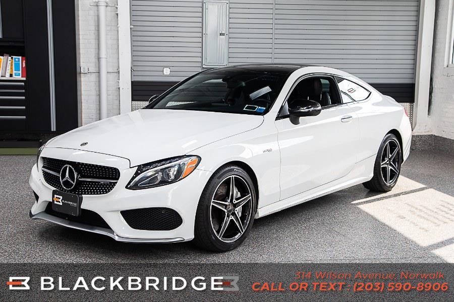 Used Mercedes-Benz C-Class AMG C 43 4MATIC Coupe 2018 | Black Bridge Motors, LLC. Norwalk, Connecticut