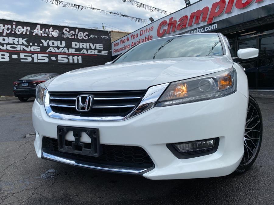 Used 2015 Honda Accord Sedan in Bronx, New York | Champion Auto Sales. Bronx, New York