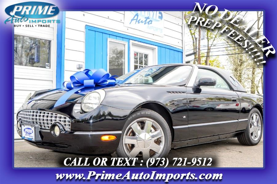 Used 2003 Ford Thunderbird in Bloomingdale, New Jersey | Prime Auto Imports. Bloomingdale, New Jersey