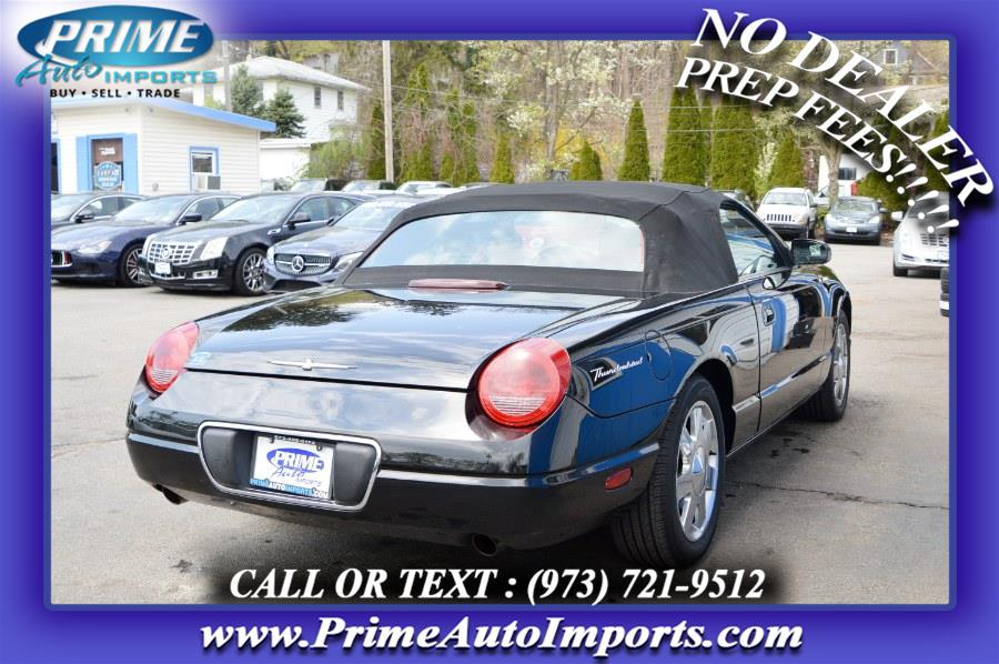 Used Ford Thunderbird 2dr Conv w/Hardtop Deluxe 2003 | Prime Auto Imports. Bloomingdale, New Jersey