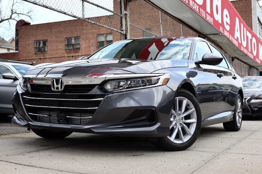 Used Honda Accord Sedan LX 1.5T CVT 2021 | Hillside Auto Mall Inc.. Jamaica, New York