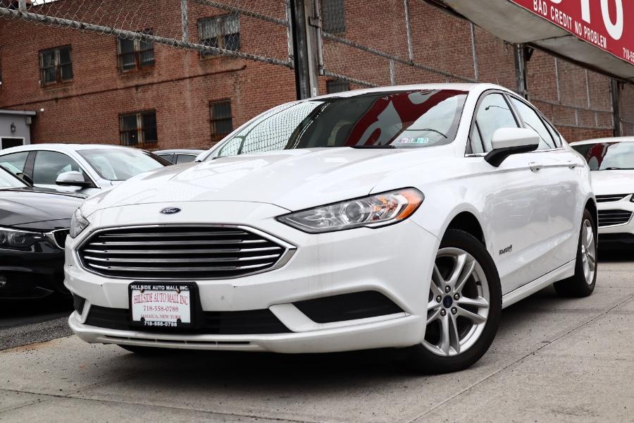 Used Ford Fusion Hybrid SE FWD 2018   Hillside Auto Mall Inc.. Jamaica, New York