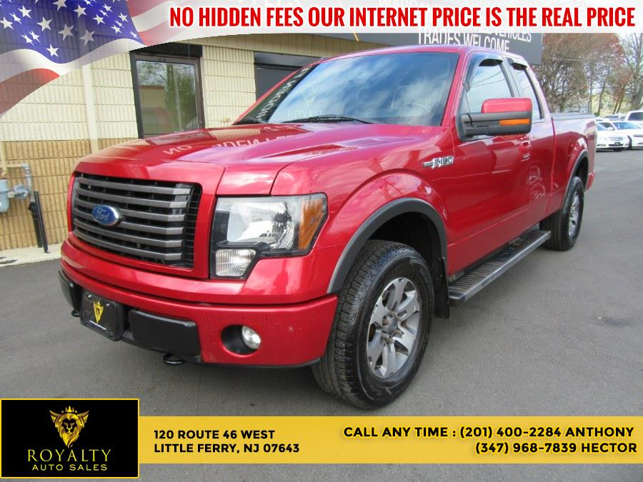 """Used Ford F-150 4WD SuperCab 145"""" FX4 2012 