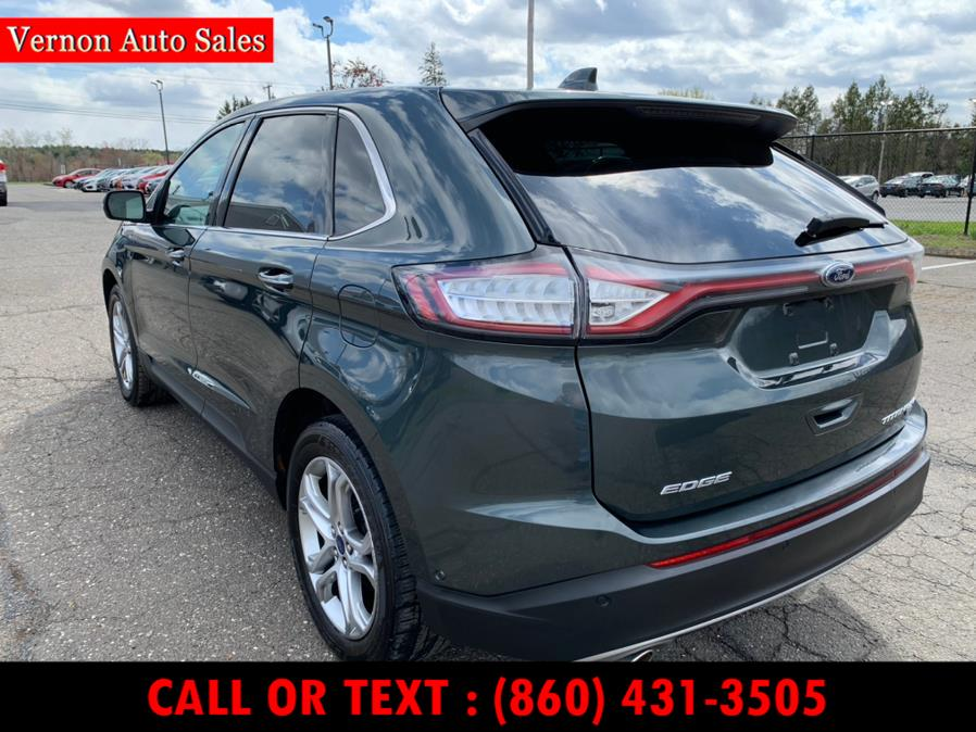 Used Ford Edge 4dr Titanium AWD 2015 | Vernon Auto Sale & Service. Manchester, Connecticut