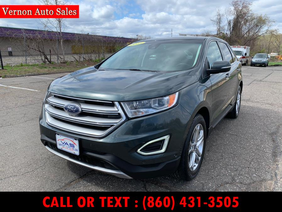 Used 2015 Ford Edge in Manchester, Connecticut | Vernon Auto Sale & Service. Manchester, Connecticut