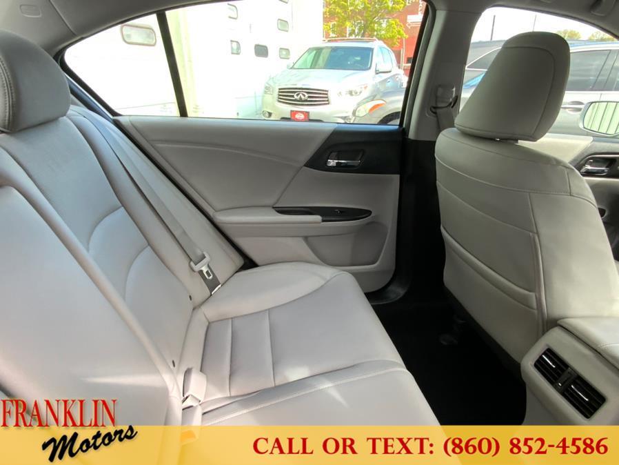 Used Honda Accord Sedan 4dr I4 CVT EX-L w/Navi 2015   Franklin Motors Auto Sales LLC. Hartford, Connecticut
