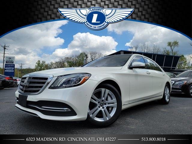 Used Mercedes-benz S-class S 450 2018   Luxury Motor Car Company. Cincinnati, Ohio