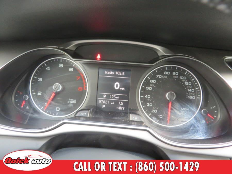 Used Audi A4 4dr Sdn Auto quattro 2.0T Premium 2014   Quick Auto LLC. Bristol, Connecticut