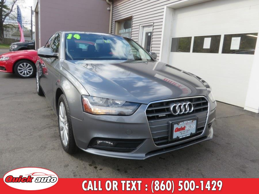 Used 2014 Audi A4 in Bristol, Connecticut | Quick Auto LLC. Bristol, Connecticut