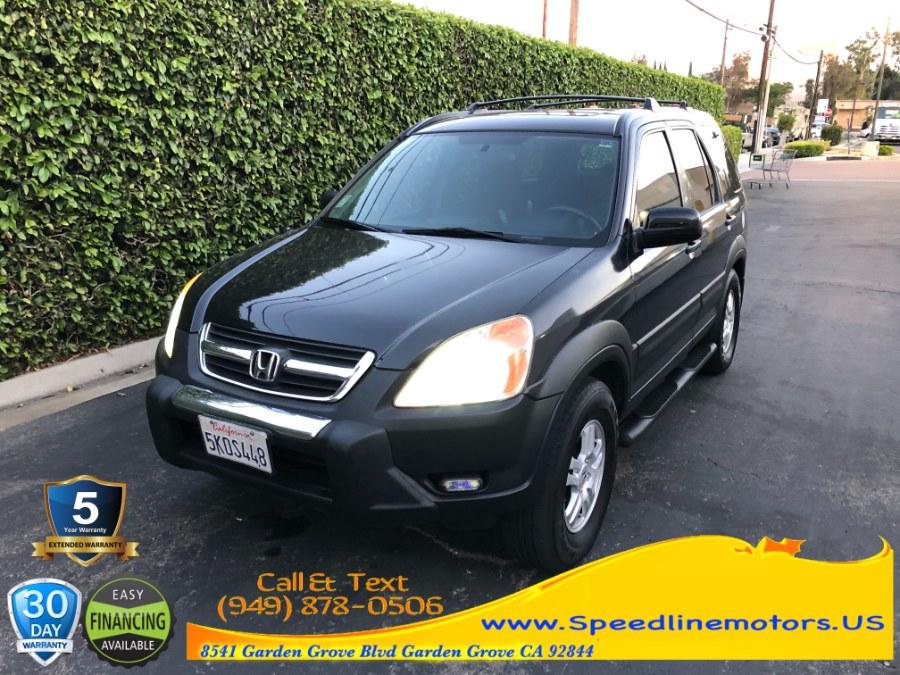 Used 2002 Honda CR-V in Garden Grove, California | Speedline Motors. Garden Grove, California
