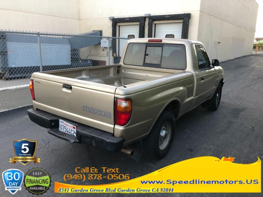 "Used Mazda B-Series 2WD Truck Reg Cab 112"" WB 2.3L Auto SX 2002   Speedline Motors. Garden Grove, California"