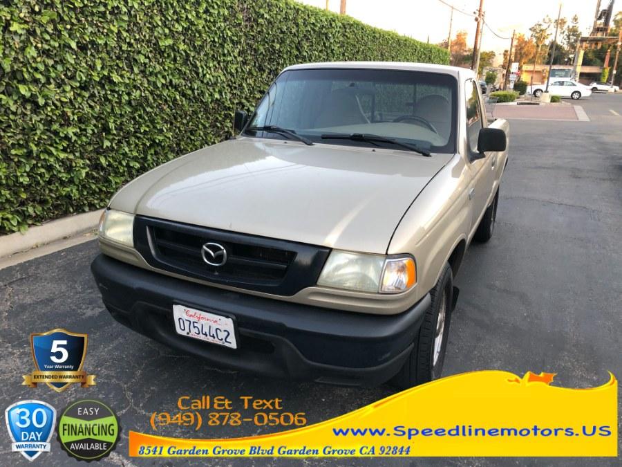 Used 2002 Mazda B-Series 2WD Truck in Garden Grove, California | Speedline Motors. Garden Grove, California