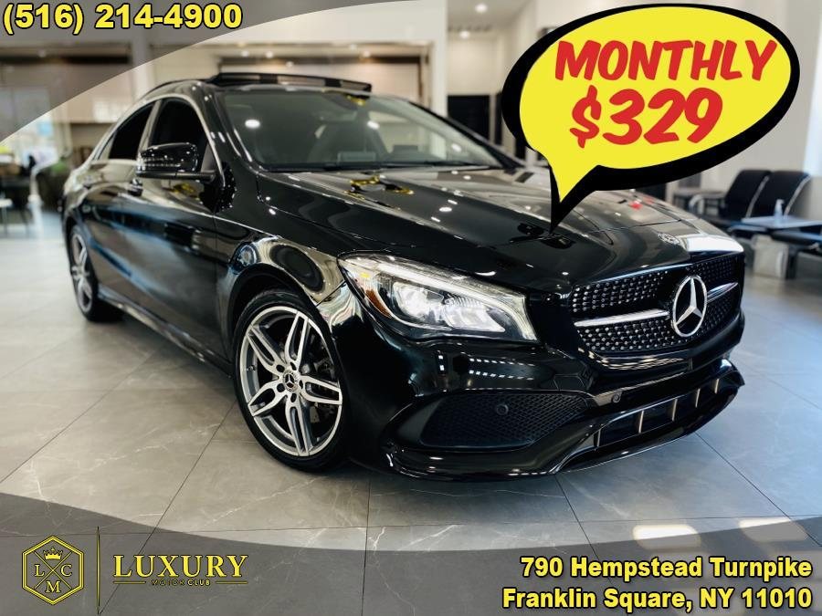 Used Mercedes-Benz CLA CLA 250 4MATIC Coupe 2018   Luxury Motor Club. Franklin Square, New York