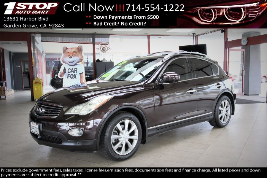 Used 2010 INFINITI EX35 in Garden Grove, California | 1 Stop Auto Mart Inc.. Garden Grove, California