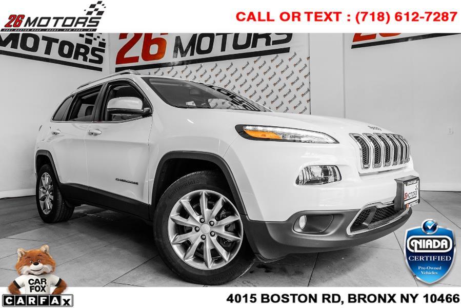 Used Jeep Cherokee Limited 4x4 2018   26 Motors Corp. Bronx, New York