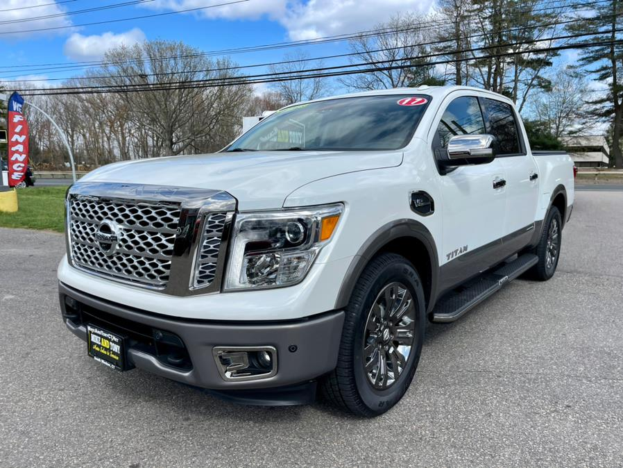 Used Nissan Titan 4x2 Crew Cab Platinum Reserve 2017 | Mike And Tony Auto Sales, Inc. South Windsor, Connecticut
