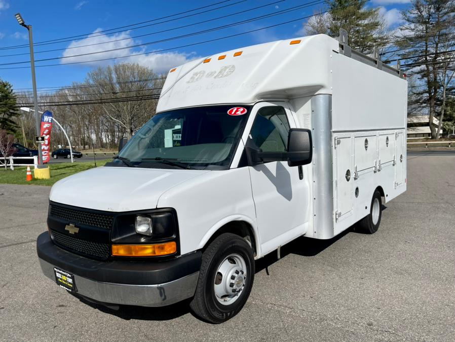 """Used Chevrolet Express Commercial Cutaway RWD 3500 139"""" WB Work Van 2012 