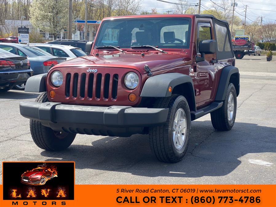 Used 2008 Jeep Wrangler in Canton, Connecticut | Lava Motors. Canton, Connecticut