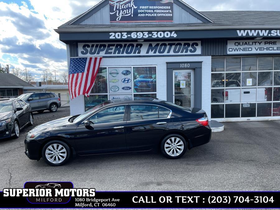 Used 2014 Honda ACCORD Accord Sedan EX-L in Milford, Connecticut | Superior Motors LLC. Milford, Connecticut