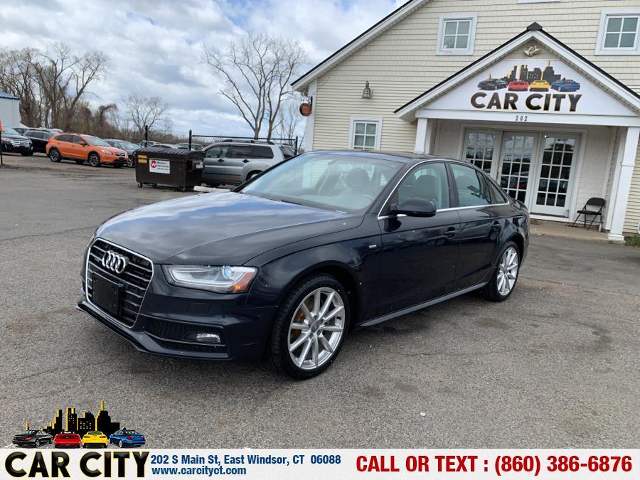 Used Audi A4 4dr Sdn Auto quattro 2.0T Premium Plus 2014   Car City LLC. East Windsor, Connecticut