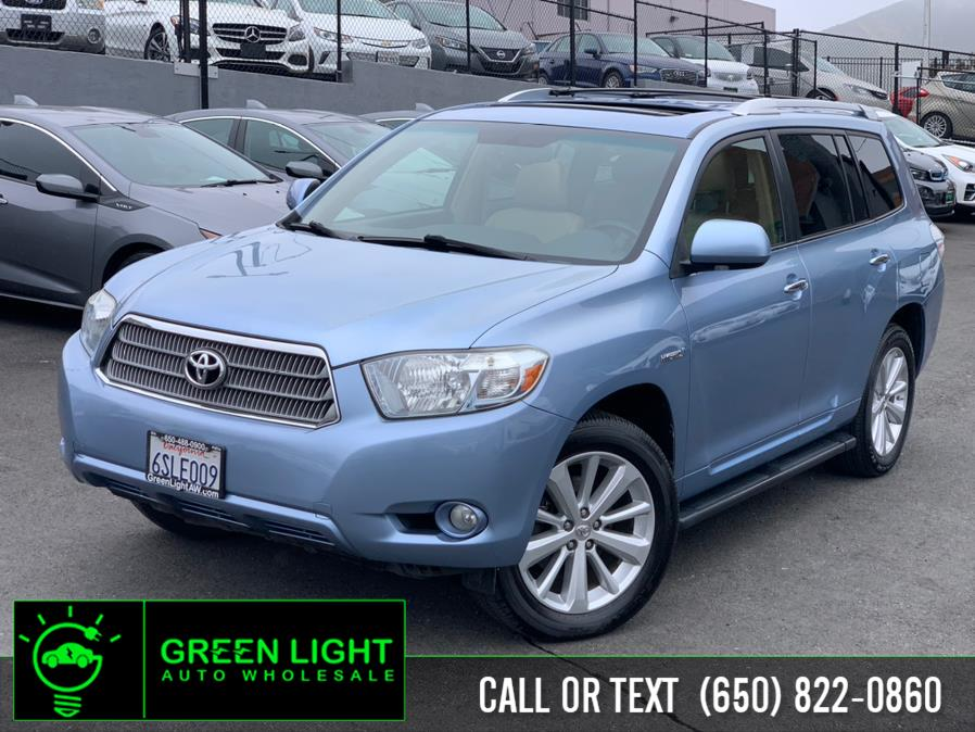 Used Toyota Highlander Hybrid 4WD Limited 2008 | Green Light Auto Wholesale. Daly City, California