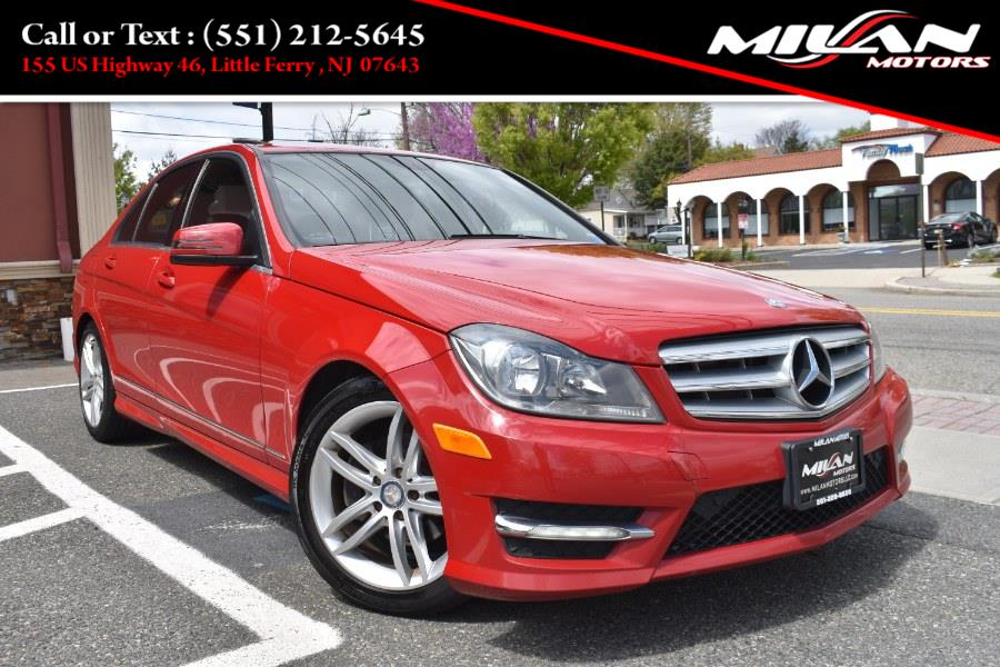 Used Mercedes-Benz C-Class 4dr Sdn C300 Sport 4MATIC 2012 | Milan Motors. Little Ferry , New Jersey